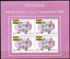 Ghana 1966 Yvertn° Bloc 22 *** MNH Cote 175 FF Sport Football - Ghana (1957-...)