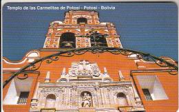 BOLIVIA(Urmet) - Templo De Las Carmelitas De Portosi, Mint - Bolivia