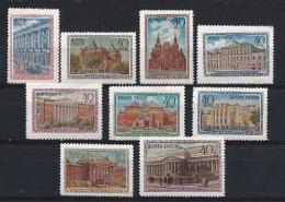 URSS234) 1950 -MUSEI DI MOSCA - Seriecpl 9val. MLH E MNH - Nuovi