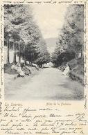 La Louvesc (Ardèche) - Allée De La Fontaine - Edition D. Paillet - Carte Animée Dos Simple - La Louvesc