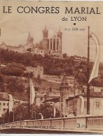 Le Congres Marial De Lyon 1939 - Livres, BD, Revues