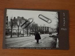 WW2 GUERRE 39 45 LE HAVRE RUE COTY EX THIERS HOTEL DE VILLE 2 VUES VILLE BOMBARDEE BOMBARDEMENT VOIR SCANS - Le Havre
