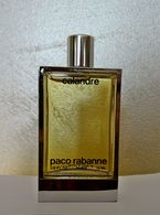 """Grande Miniature """"Calandre"""" De PACO RABANNE  FACTICE  15 Ml Flacon Métal Et Verre - Fakes"""