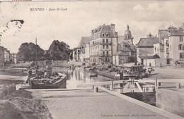 RENNES - ILLE & VILAINE - (35)  - CPA ANIMÉE DE 1905. - Rennes
