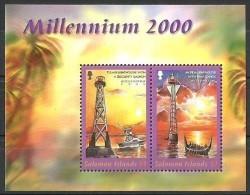 Salomon Solomon Islands  2000 Yvertn° Bloc 57 *** MNH Cote 7,50 Euro Millennium - Salomon (Iles 1978-...)