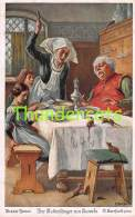 CPA ILLUSTRATEUR O. HERRFURTH CONTE HISTOIRE ARTIST SIGNED FAIRY TALE ** GRIMM DER RATTENFANGER VON HAMELN - Contes, Fables & Légendes