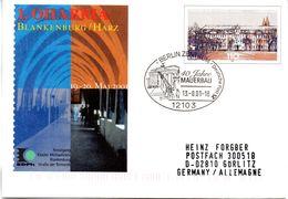 "BRD Amtl.GZS-Umschlag USo 27 ""1. OHABRIA 2001"" SSt. 13.8.2001 BERLIN ZENTRUM - [7] Repubblica Federale"