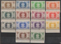 Wallis Et Futuna - N° YT 133 à 146 Neufs ** Luxe. - Wallis Y Futuna