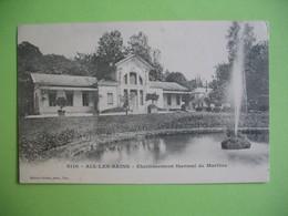 CPA  Aix-Les-Bains  Etablissement Thermal De Marlioz - Health