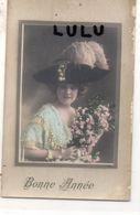 Femmes N° 298 : Jolie Chapeau , Fleurs : édit. ? - Femmes