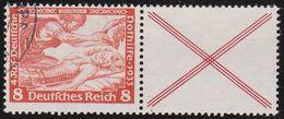Deutsches  Reich   .   Michel  .    W 53        .       O    .         Gebraucht - Zusammendrucke