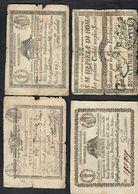 9 Paoli Sup + 1,5 Paoli Tagli Q.mb + 50 Baj Q.mb + 4 Scudi Q.mb LOTTO 530 - [ 9] Collezioni