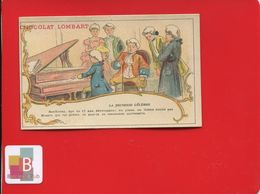Chocolat Lombart Chromo Jeunesse Célèbre Musicien BEETHOVEN PIANO MOZART - Lombart