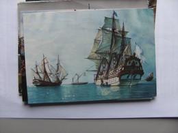 Boat  French War Ships - Guerra