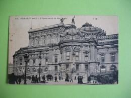 CPA  Paris   L'Opéra Vu De La Rue Scribe - Monuments