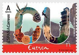 SPAIN, 2018, MNH, 12 MONTHS, 12 STAMPS, CUENCA, DEER, FOOD, RELIGION,1v - Holidays & Tourism