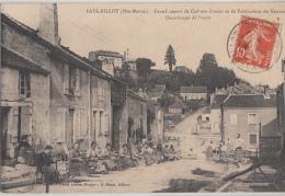 FAYL BILLOT       DECORTICAGE DE L OSIER - Fayl-Billot