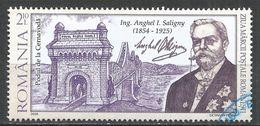 Romania 2009. Scott #5117 (U) Anghel I. Saligny (1854-1925), Engineer * - Oblitérés
