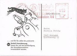 27690. Tarjeta Privada STUTTGART (Alemania Federal) 1980. THURINGIA Franqueo Mecanico - [7] República Federal