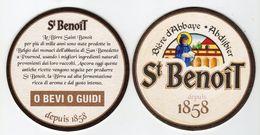 St. Benoit  Bière D'Abbate - Abdijbier - - Sotto-boccale