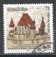 Romania 2011. Scott #5299 (U) Biertan Church Castle UNESCO World Heritage Site * - 1948-.... Républiques