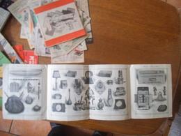 PARIS LEFEBVRE FILS AÎNE FABRICANT JOAILLIER ORFEVRE 106-108 RUE DE RIVOLI  PREMIERES COMMUNIONS 1921 DEPLIANT PUBLICITA - Werbung