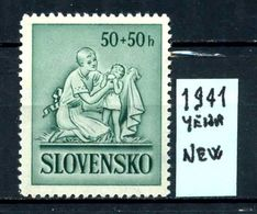 SLOVACCHIA - Year 1941 - Nuovo - New - Fraiche - Frisch - MNH ** - Slovacchia