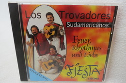 """CD """"Los Trovadores Sudamericanos"""" Feuer, Rhythmus Und Liebe, Fiesta Latina - Music & Instruments"""
