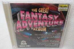 "CD ""Erich Kunzel"" The Great Fantasy Adventure Album, Cincinnati Pops Orchestra, Surround Sound - Musik & Instrumente"