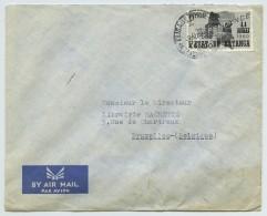 Enveloppe Etat Du Katanga Pour Bruxelles . Elisabethville . 1961 . - Katanga