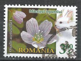 Romania 2012. Scott #5331 (U) Oxalis Acetosella (Flowers), Rabbit * - 1948-.... Républiques