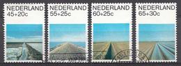 Pays-Bas 1981  Mi.nr: 1176-1179  Sommermarken  Oblitérés / Used / Gestempeld - Periode 1980-... (Beatrix)