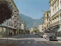 Martigny - L'avenue De La Gare - VS Valais