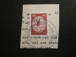 Dt. Reich Flugpost V Gestempelt Auf Papier / NACHDRUCK (a) - Poste Aérienne