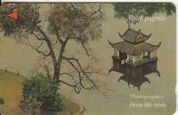 VIETNAM(GPT) - Thay Pagoda(300000D), CN : 100UPVA,  Tirage 9750, Used - Vietnam