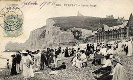 76 Le Littoral - ETRETAT - Sur La Plage - élégantes Chapeautées, Le Petit Pâtissier... - Etretat