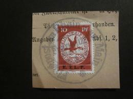 Dt. Reich Flugpost V Gestempelt Auf Papier / NACHDRUCK (b) - Poste Aérienne