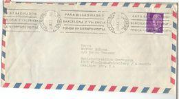 BARCELONA GRACIA  CC SELLOS BASICA FRANCO - 1931-Hoy: 2ª República - ... Juan Carlos I