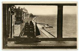 PARKGATE : THROUGH AN ATTIC WINDOW - England