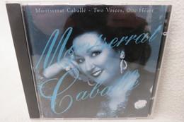 "CD ""Montserrat Caballé"" Two Voices, One Heart - Opera"