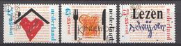 Pays-Bas 1989  Mi.nr: 1371-1373  Für Das Kinder  Oblitérés / Used / Gestempeld - Periode 1980-... (Beatrix)