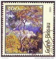 "Guinea Bissau 2001 Sc. 1212 ""Bordighera"" Quadro Dipinto Da C. Monet Impressionismo  Paintings Used - Guinea-Bissau"