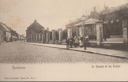 Quiévrain-  Le Square Et Les écoles - Quiévrain