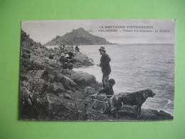 CPA  Val André La Bretagne Pittoresque  - Pêcheurs à La Lingouare - Le Verdelet - France