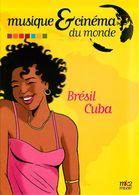 Thème Musique * Brésil Cuba  ( Scan Recto Et Verso) - Reclame