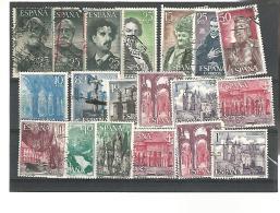 55236 ) Collection Spain Postmark Perfin - Spain