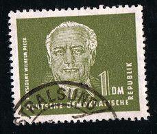 1952/1953, Freimarke Präsident Wilhelm Pieck, Michel-Nr.: 325 Z Mit Wasserzeichen 2 X I, Gestempelt O, Siehe Scan - DDR