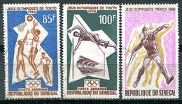 SENEGAL - Y&T PA 43, 44 Et 69 (Sports - Jeux Olympiques) - Senegal (1960-...)
