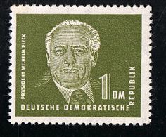 1952/1953, Freimarke Präsident Wilhelm Pieck, Michel-Nr.:325 Z Mit Wasserzeichen 2 X II, Ungebraucht Mit Falz Siehe Scan - DDR