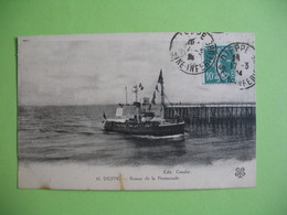 CPA   Dieppe    Retour De La Promenade    1904 - Dieppe